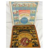 SWEEPSTAKES HORSE RACE GAME