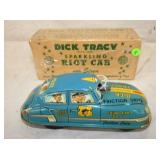 MARX FRICTION DICK TRACY RIOT CAR