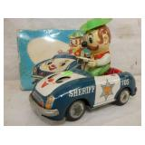 VIEW 2 SHERIFF CAR W/ORG. BOX