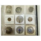 STERLING SILVER PENDANTS & COINS