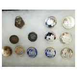 STERLING SILVER COMMEMORATIVE COINS