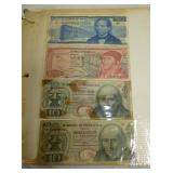 COLLECTION OF FOREIGN PAPER NOTES