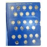 1916-1945 BOOK OF MERCURY DIMES