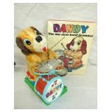 BATTERY OP DANDY DOG DRUMMER