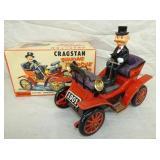 BATTERY OP CRAGSTAN SHAKING ANTIQUE CAR