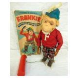 BO FRANKIE THE ROLLER SKATING MONKEY