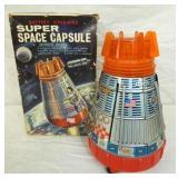 BATTERY OP SUPER SPACE CAPSULE