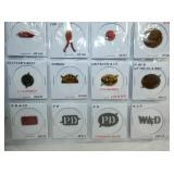 VIEW 10 100 PC. TOBACCO TAG COLLECTION