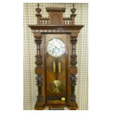 16X41 VIENNA REGULATOR WALL CLOCK
