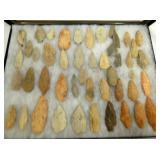 COLLECTION RANDOLPH COUNTY ARROWHEADS