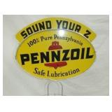 VIEW 2 CLOSE UP PENNZOIL MARQUEE SIGN