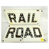 20X10 RAILROAD SIGNS