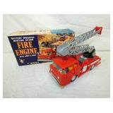 BATTERY OP MARX FIRE ENGINE W/BOX