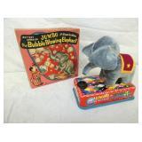 BO JUMBO THE BUBBLE BLOWING ELEPHANT