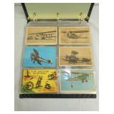 BOOK OF EARLY AVIATION POST CARDS