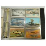 VIEW 3 AIRPLANE/AVIATION POST CARDS