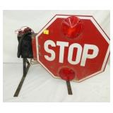 MECHANICAL STOP SIGN