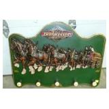 36X24 WOODEN BUDWEISER CLYDESDALE SIGN