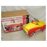 NOS COKE PEDAL CAR W/BOX
