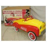VIEW 2 NOS COKE PEDAL CAR