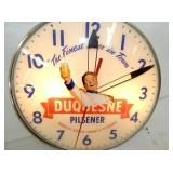 VIEW 2 CLOSE UP LIGHTED DUQUESNE CLOCK