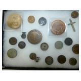 VARIOUS COINS & COLLECTOR COINS