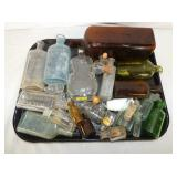 ASSORTED EARLY MEDICINE BOTTLES