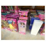 COLLECTION BARBIE DOLLS
