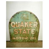 QUAKER STATE TOMBSTONE SIGN