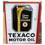 18X23 PORC. TEXACO MOTOR OIL FLANGE