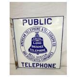 18X20 PORC. PUBLIC TELEPHONE FLANGE