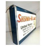 VIEW 2 LIGHTED SHERWIN WILLIAMS SIGN