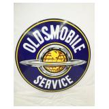 VIEW 2 PORC. OLDSMOBILE SERVICE SIGN