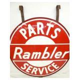 VIEW 2 CLOSE UP RAMBLER SIGN W/FRAME