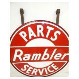 VIEW 4 CLOSE UP OTHERSDIDE PORC. RAMBLER DEALER SIGN