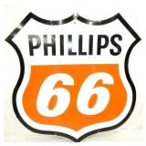 6FT. 1960 PORC. PHILLIPS 66 SHIELD SIGN