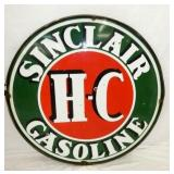 48IN. PORC. HC SINCLAIR SIGN