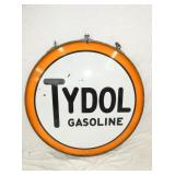 48IN. PORC. TYDOL GASOLINE SIGN