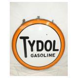 VIEW 2 OTHERSIDE PORC. TYDOL GASOLINE SIGN