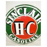 VIEW 4 CLOSE UP OTHERSIDE SINCLAIR SIGN