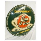 VIEW 4 SUNDROP GOLDEN COLA EMB. SIGN