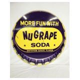 36IN. NUGRAPE SODA CAP SIGN