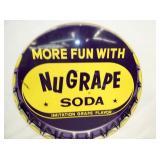 VIEW 2 CLOSE UP NUGRAPE SODA SIGN