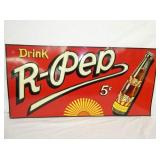 36X18 EMB. 5 CENT R-PEP SIGN