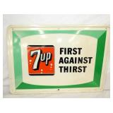 27X19 1966 EMB. 7UP SIGN