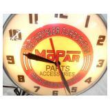 VIEW 2 CLOSE UP MOPAR PAM CLOCK