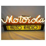 VIEW 4 CLOSE UP MOTOROLA NEON LIGHTED SIGN