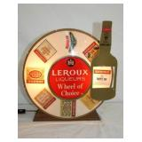 12X13IN. LEROUX  ROULETTE LIGHTED STORE SIGN