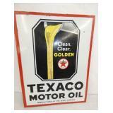VIEW 2 OTHERSIDE PORC. TEXACO MOTOR OIL FLANGE
