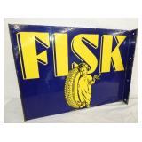 26X19 PORC. FISK TIRE FLANGE SIGN